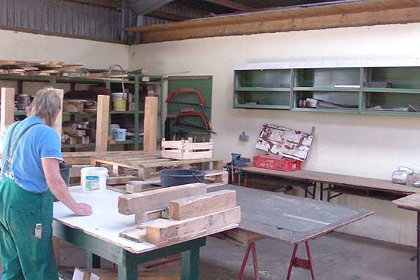Stedesander Hof - Werkstatt