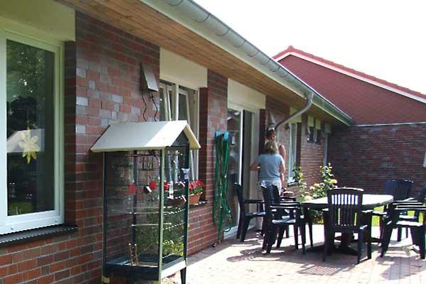 Terrasse Appartement Uhlebüller Wohngemeinschaften