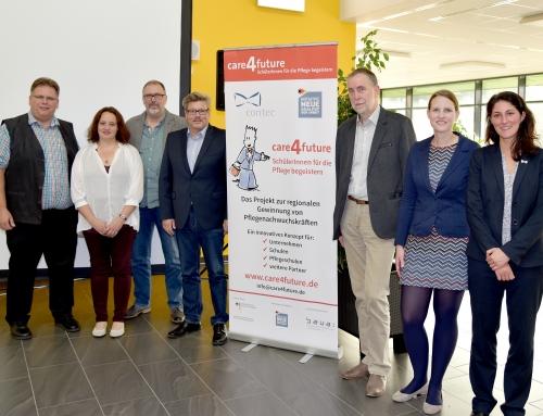 """Projektauftakt """"care4future – Pflege hat Zukunft"""" in Niebüll"""